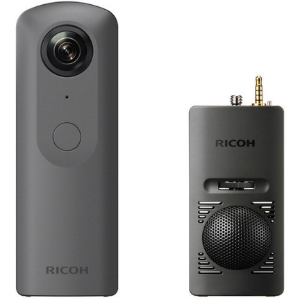 Ricoh Theta V 4K Spherical VR Camera + 3D Microphone