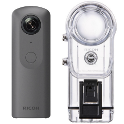 Ricoh Theta V + Underwater Housing TW-1