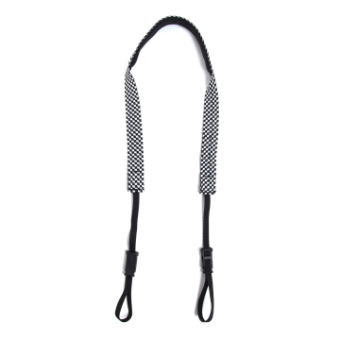 Crumpler Check Strap Black / White