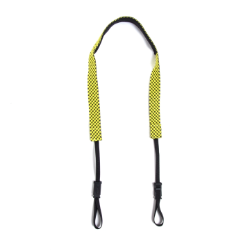 Crumpler Check Strap Cameo Grey / Yellow