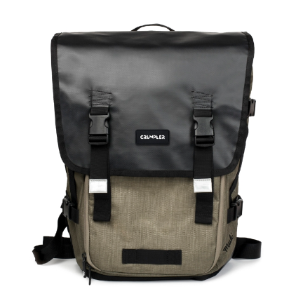 Crumpler Muli Half Photo Backpack Black Tarpaulin **