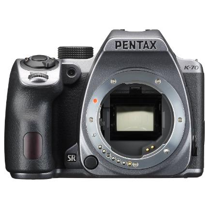 Pentax K-70 DSLR Camera Body Only (Silver)