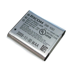 Ricoh DB-100 Lithium Battery