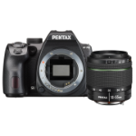 Pentax K-70 DSLR (Black) + 18-55mm WR Lens