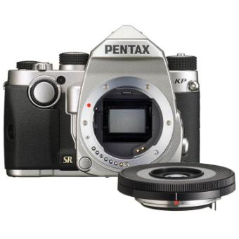 Pentax KP DSLR Body (Silver) & DA 40mm f/2.8 XS Lens