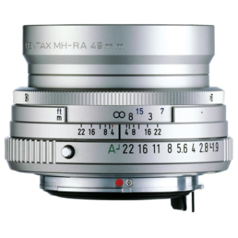 Pentax-FA 43mm f/1.9 Limited Lens (Silver)