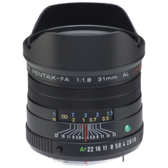 Pentax-FA 31mm f/1.8 Limited Lens (Black)