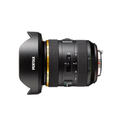 Pentax HD DA* 11-18mm f2.8 ED DC Lens