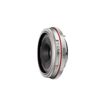 Pentax DA 40mm f/2.8 LTD HD Lens (Silver)