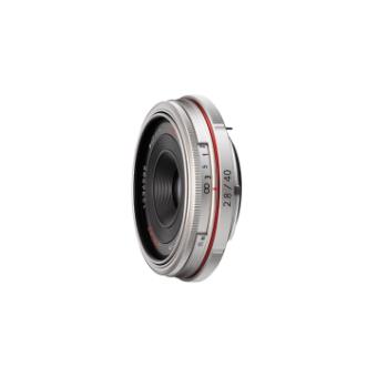 Pentax DA 40mm f/2.8 LTD HD Lens (Silver)