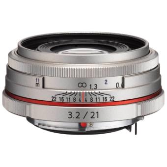 Pentax DA 21mm f/3.2 LTD HD Lens (Silver)