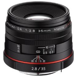 Pentax DA 35mm f/2.8 LTD HD Macro Lens - Black
