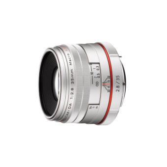 Pentax DA 35mm f/2.8 LTD HD Macro Lens (Silver)