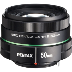 Pentax DA 50mm f/1.8 SMC Lens