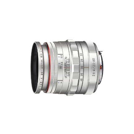 Pentax DA 20-40mm f/2.8-4 Limited Silver