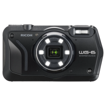 Ricoh WG-6 20MP Camera Kit - Black