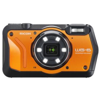 Ricoh WG-6 20MP Camera Kit - Orange