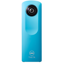 Ricoh Theta m15 Spherical VR Digital Camera (Blue)