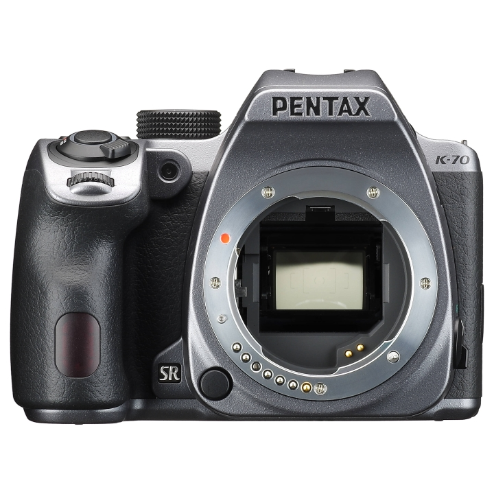 16658 - Pentax K-70 DSLR (Silver) +