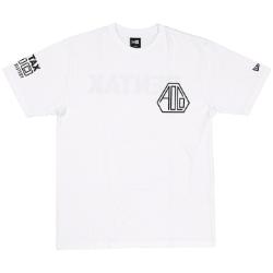 Pentax New Era AOCO 100 Tshirt WT/BK Medium