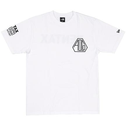 Pentax New Era AOCO 100 Tshirt WT/BK XL