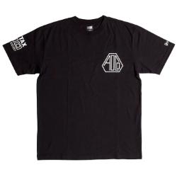 Pentax New Era AOCO 100 Tshirt BK/WT Medium