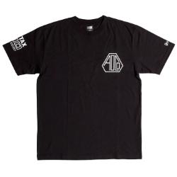 Pentax New Era AOCO 100 Tshirt BK/WT XL
