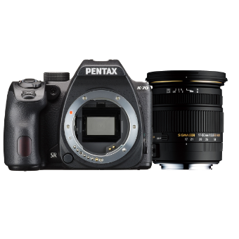 Pentax K-70 Body (Black) + Sigma 17-50mm f2.8 Lens