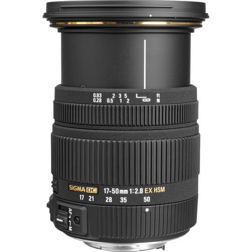 Sigma 17-50mm F/2.8 EX DC OS HSM Lens