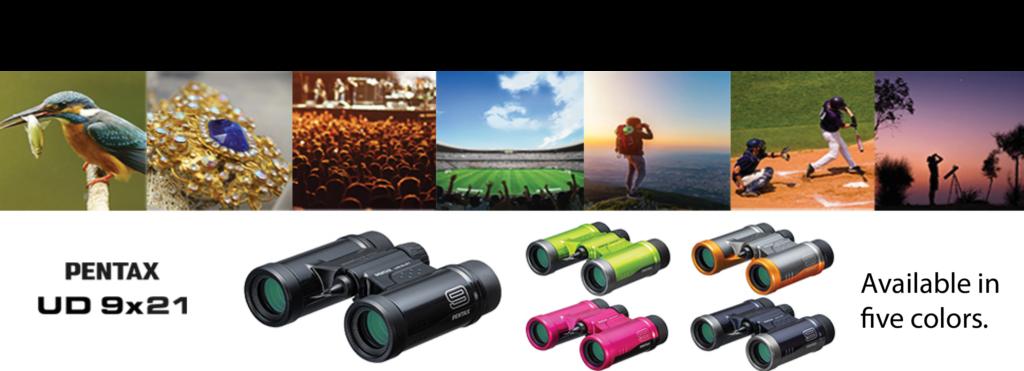 61813 - Pentax UD 9x21 Binoculars -