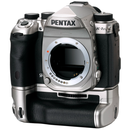 Pentax K-1 Mark II DSLR Camera Silver Special Edition With D-BG6 Silver Edition Grip