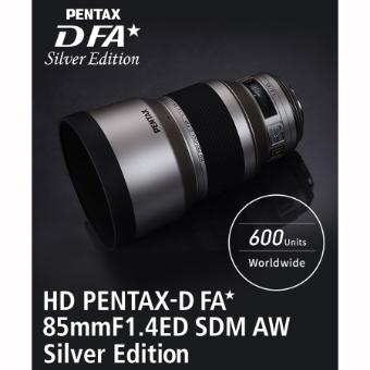 Pentax-D FA* 85mm f/1.4 SDM AW Silver Lens