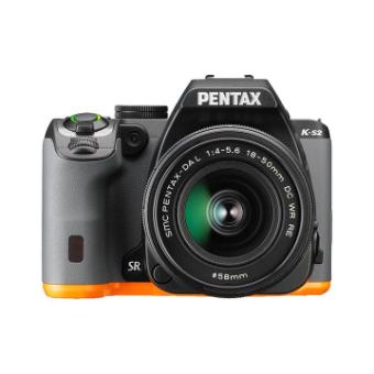 Pentax K-S2 (Black / Orange) WZOOM Kit OTH **