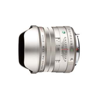 Pentax HD FA 31mm f/1.8 Limited W/C Silver