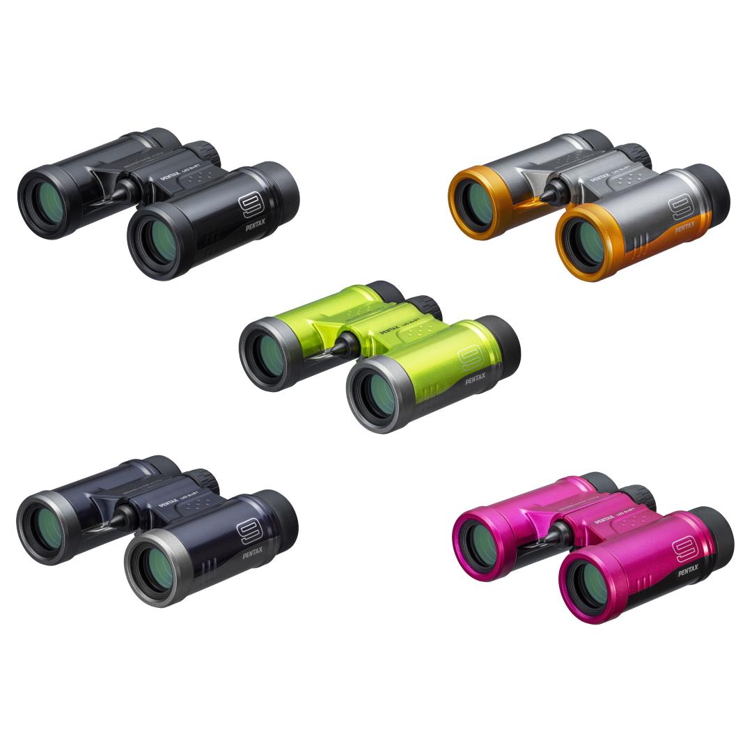 Pentax 9x21 UD Binocular (Gray/Orange)