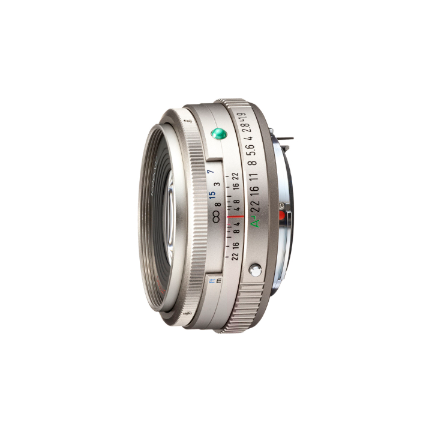 Pentax HD FA 43mm f/1.9 Limited Lens - Silver