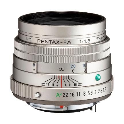 Pentax HD FA 77mm f/1.8 Limited Lens - Silver