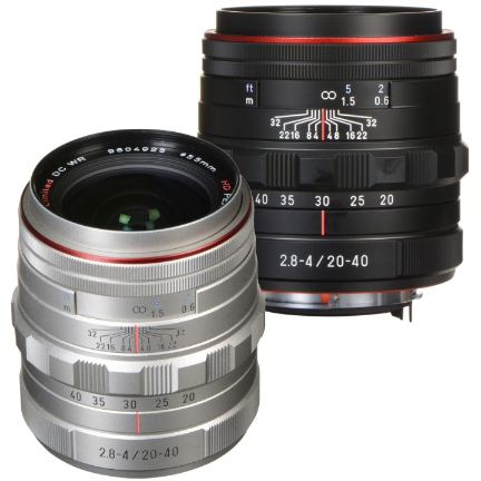 Pentax DA 20-40mm f/2.8-4 Limited DC WR Lens