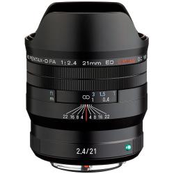 HD Pentax-D FA 21mm F2.4ED Limited DC WR Black Lens